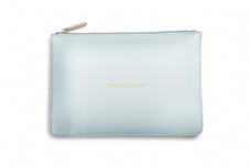 Katie Loxton BEAUTIFUL DREAMER Perfect Pouch Clutch Bag - Powder Blue
